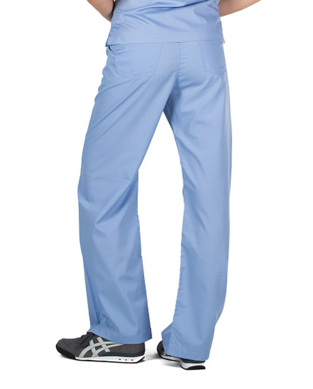 XXS Petite Ceil Blue Classic Simple Scrub Pants