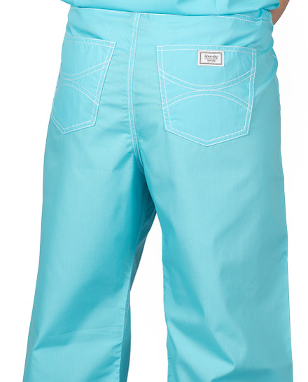 Small Turquoise Urban Shelby Scrub Pants