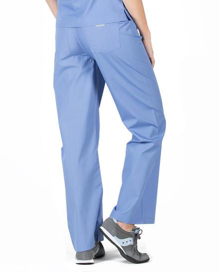 Ceil Scrub Pant - Petite Grey Label