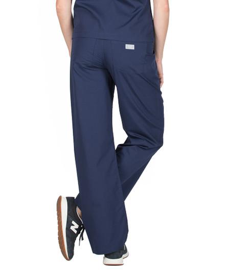 Navy Scrub Pant - Petite Grey Label