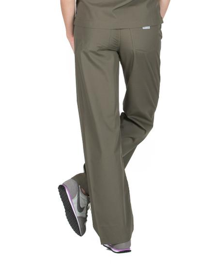 Olive Scrub Pant - Petite Grey Label