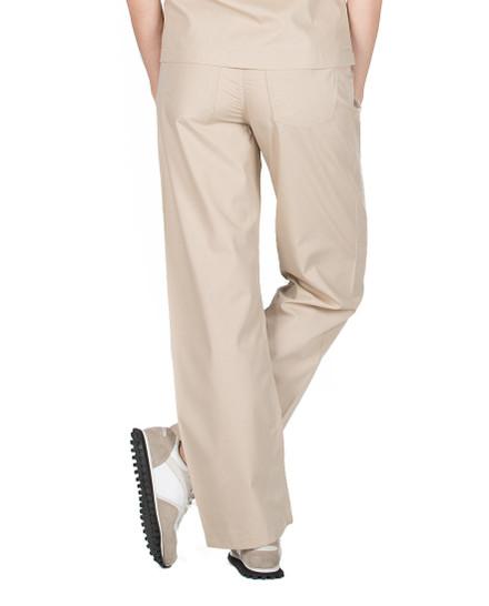 Khaki Scrub Pant - Petite Grey Label