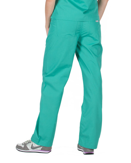 Surgical Green Scrub Pant - Petite Grey Label