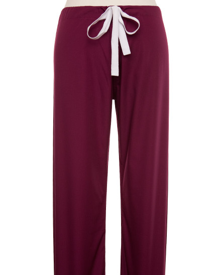 Wine Scrub Pant - Petite Grey Label
