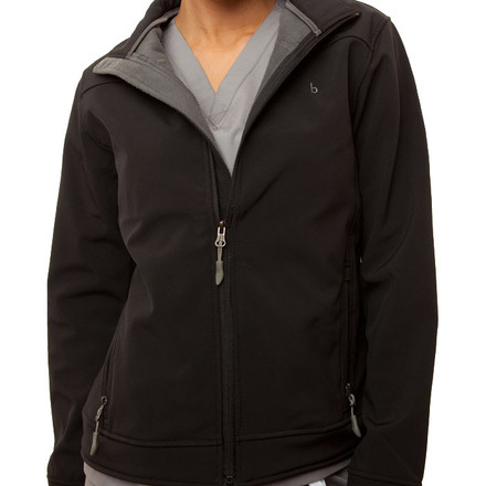 Black Haddington Soft Shell Jacket