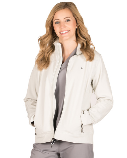 Cream Haddington Soft Shell Jacket