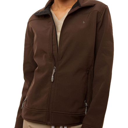 Chocolate Haddington Soft Shell Jacket
