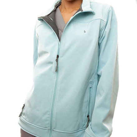 Light Blue Haddington Soft Shell Jacket