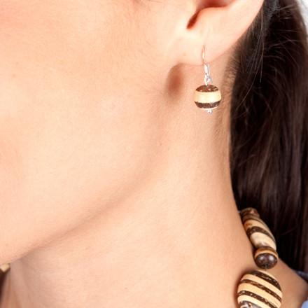 Capetown blue sky Luxe Earrings