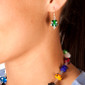 Circus blue sky Luxe Earrings - Image Variant_1