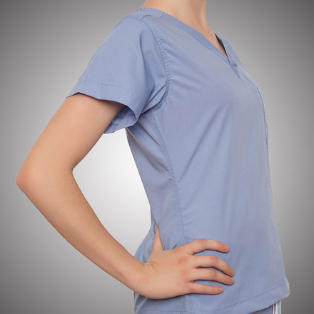 Ceil Blue Original Scrub Tops