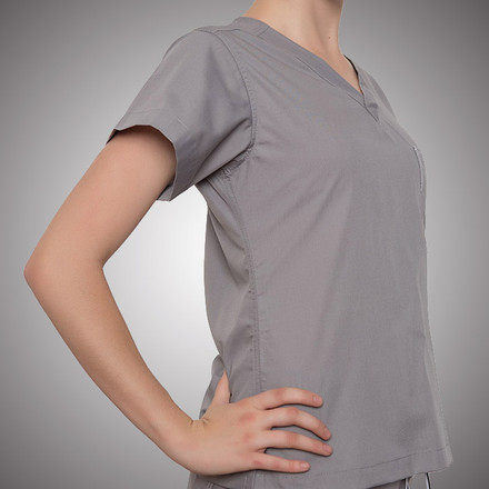 Slate Grey Original Scrub Tops