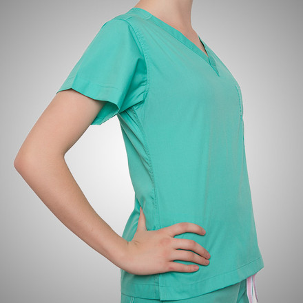 Carnegie Green Original Scrub Tops
