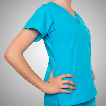 Peacock Original Scrub Tops
