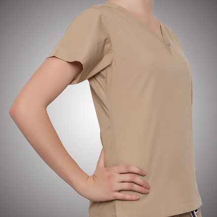 Safari Khaki Original Scrub Tops