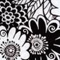 Fairmont Floral blue sky scrubs Poppy Scrub Cap