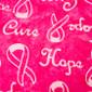 Breast Cancer Awareness blue sky scrubs Poppy Scrub Cap