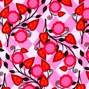 Pink Petals Poppy Scrub Hat
