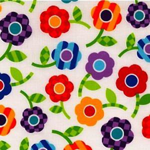Marineau Floral Poppy Scrub Hat
