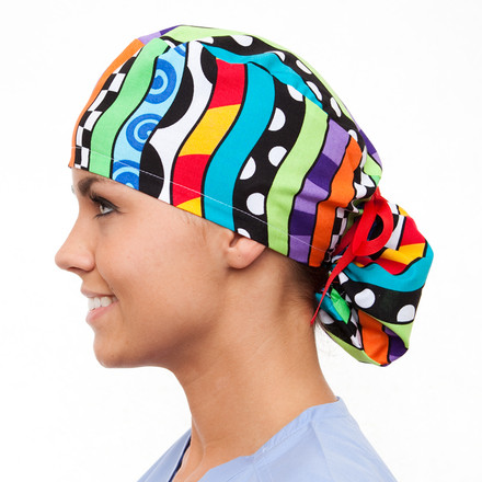 Apex Poppy Scrub Hat