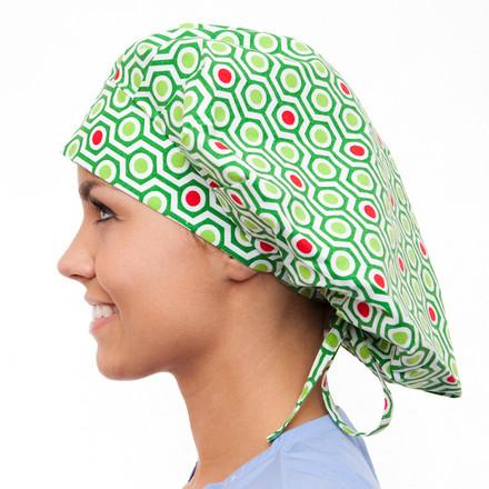 Alpine Poppy Scrub Hat