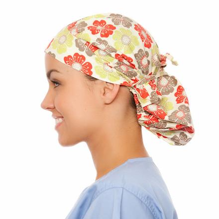 Prescott Poppy Scrub Hat