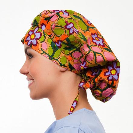 Maple Valley Poppy Scrub Hat