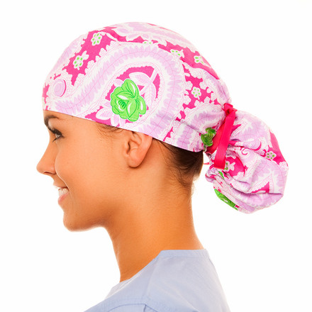 Gentilly Pony Scrub Hat