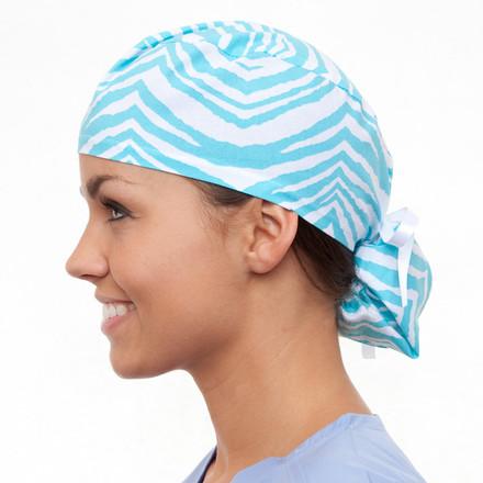 African Skyline Pony Scrub Hat