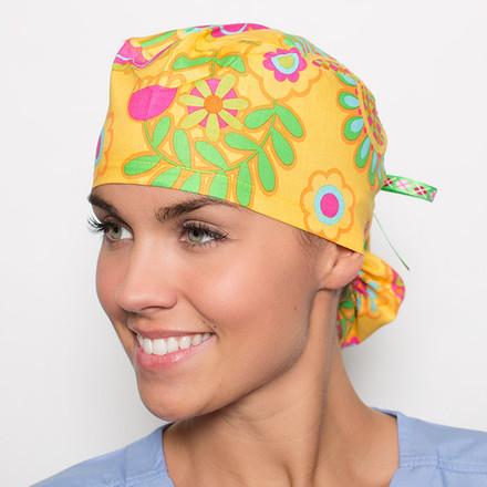 Sunny Vista Pony Scrub Hat