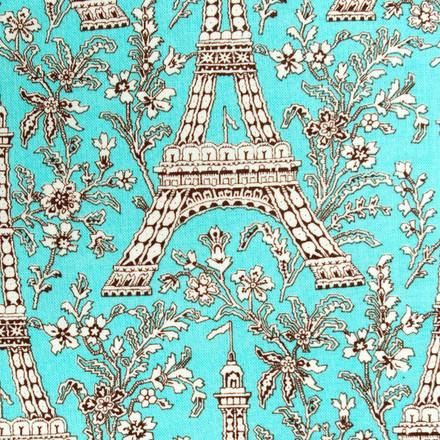 Paris Sky Pixie Scrub Hat