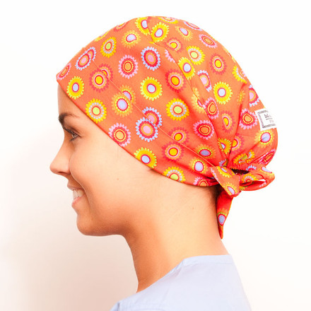 Orange Slush Pixie Scrub Hat