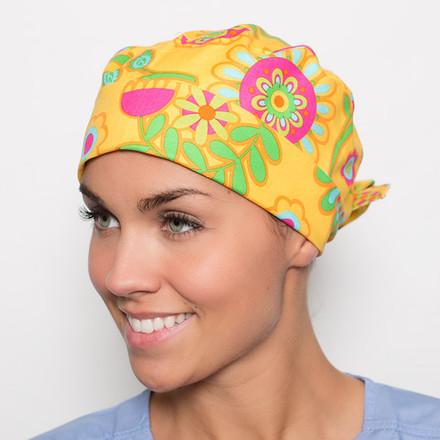 Sunny Vista Pixie Scrub Hat