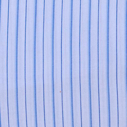 Blue Pinstripes Men's Scrubs Hat