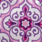 Lavender Damask Poppy Scrub Hat