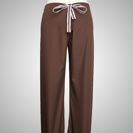Chocolate Scrubs Pant - Petite Grey Label