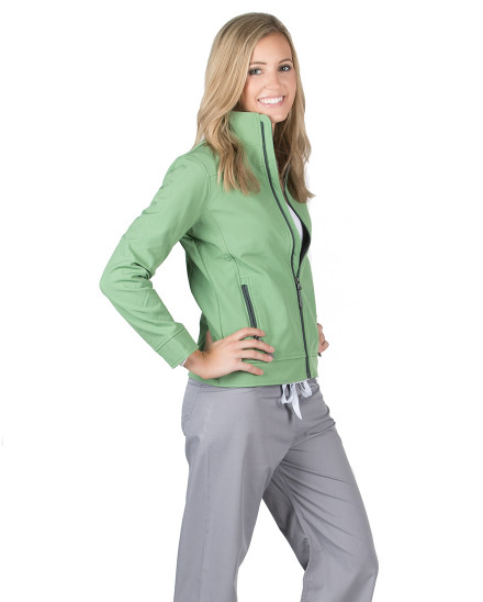 Green Tea Haddington Soft Shell Jacket
