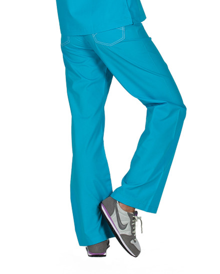 Peacock Shelby Scrub Bottoms