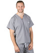 David Slate Grey Relaxed Scrub Tops - Image Variant_0