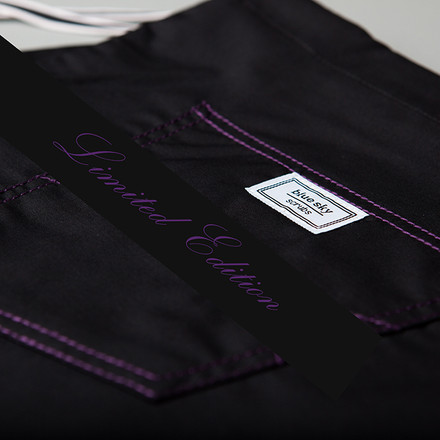 Purple Elixir Stitched Scrub Bottoms