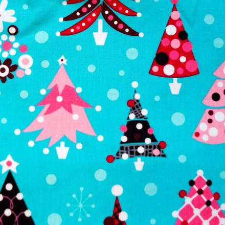 Bedazzled Christmas Poppy Scrub Hat