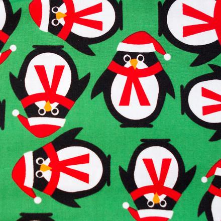 Penguin Cheer Poppy Scrub Hat