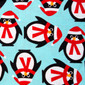 Penguin Playtime Pixie Scrub Hat