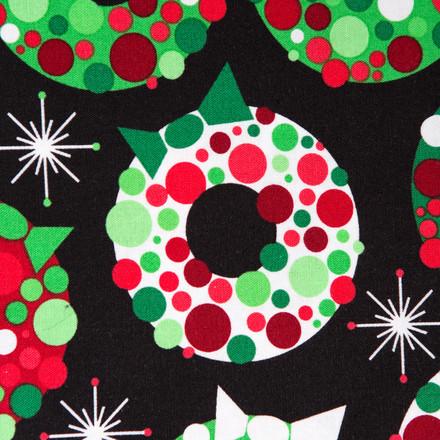 Merry Christmas Poppy Scrub Hat