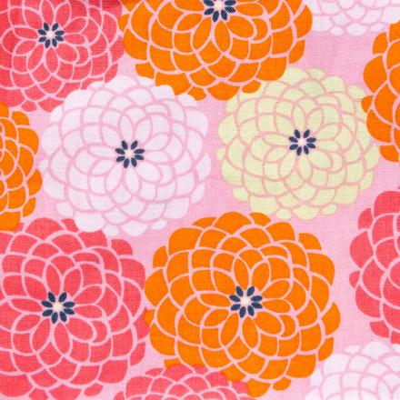 Orange Blossom Poppy Scrub Hat