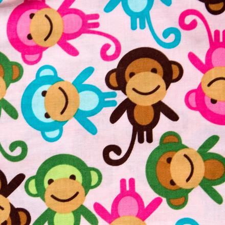Monkey See Monkey Do Pixie Scrub Hat by blueskyscrubs.com