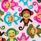 Monkey See Monkey Do Poppy Scrub Hat by blueskyscrubs.com