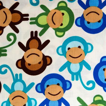Monkey Business Pixie Scrub Hat by blueskyscrubs.com