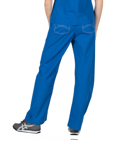 Royal Shelby Scrubs Pant - Petite Grey Label