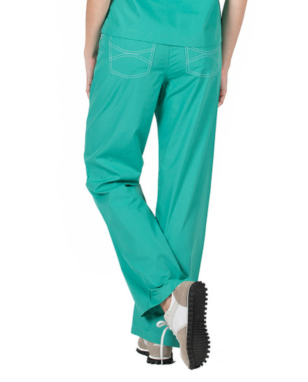 Surgical Green Shelby Scrubs Pant - Petite Grey Label